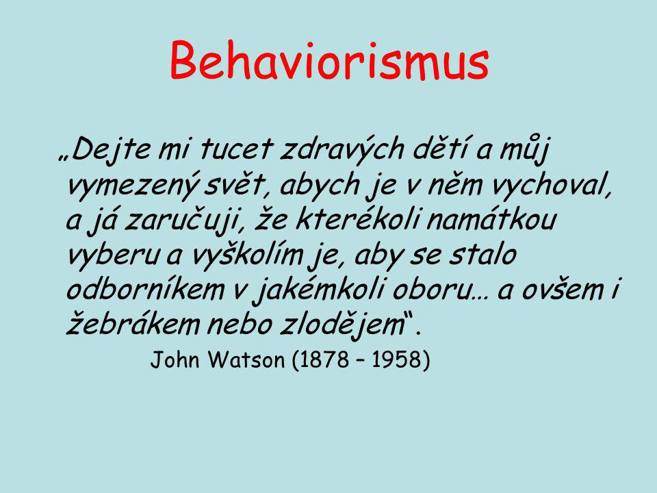 Behaviorismus