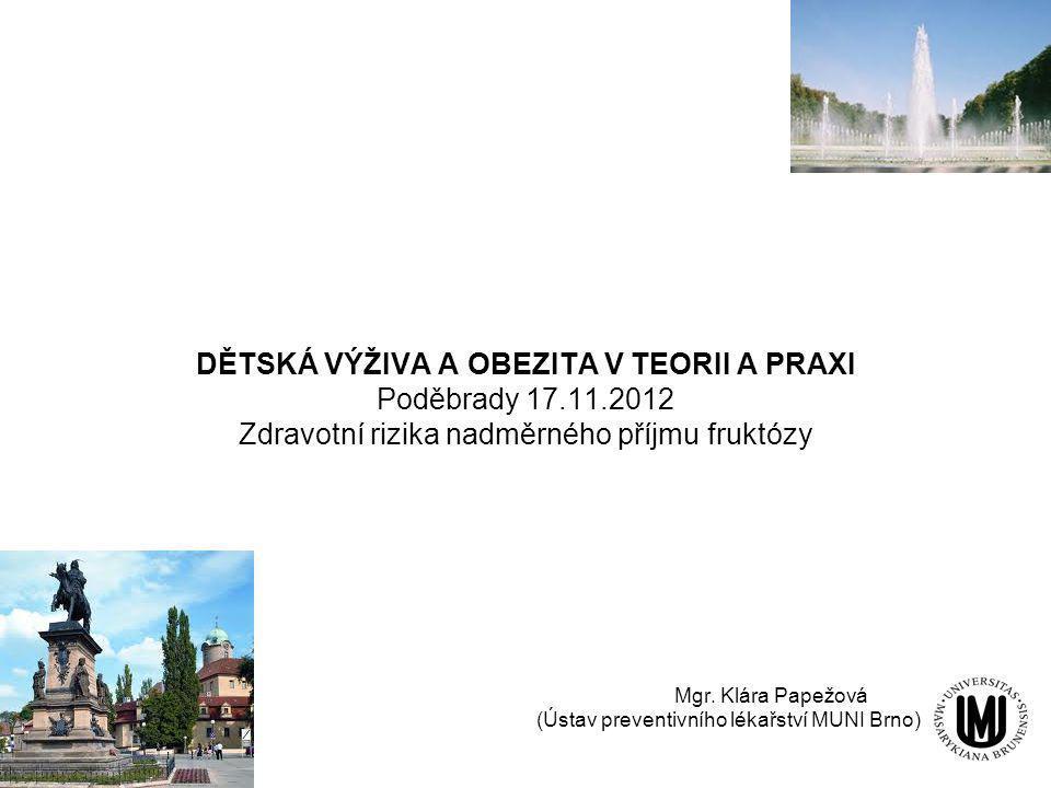 Mgr. Klára Papežová (Ústav preventivního lékařství MUNI Brno)