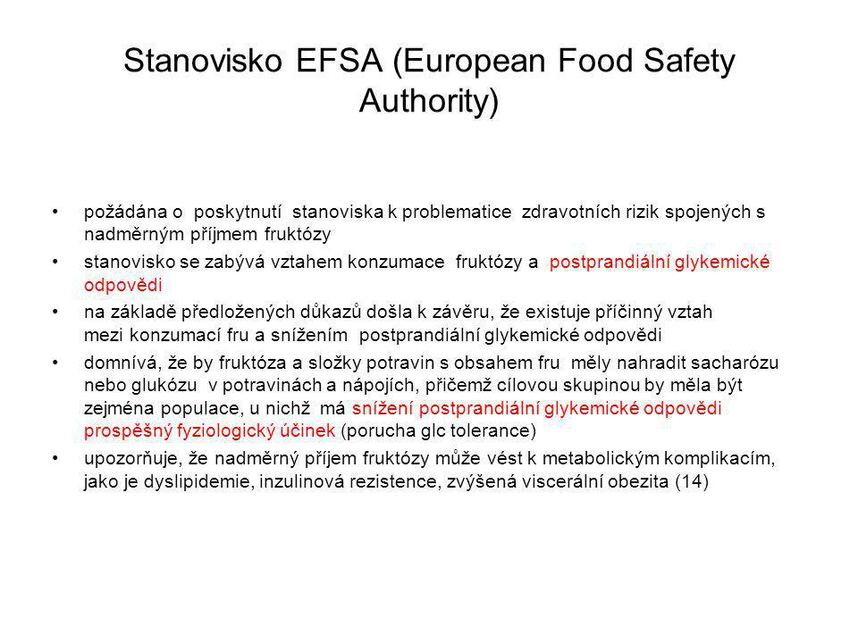 Stanovisko EFSA (European Food Safety Authority)