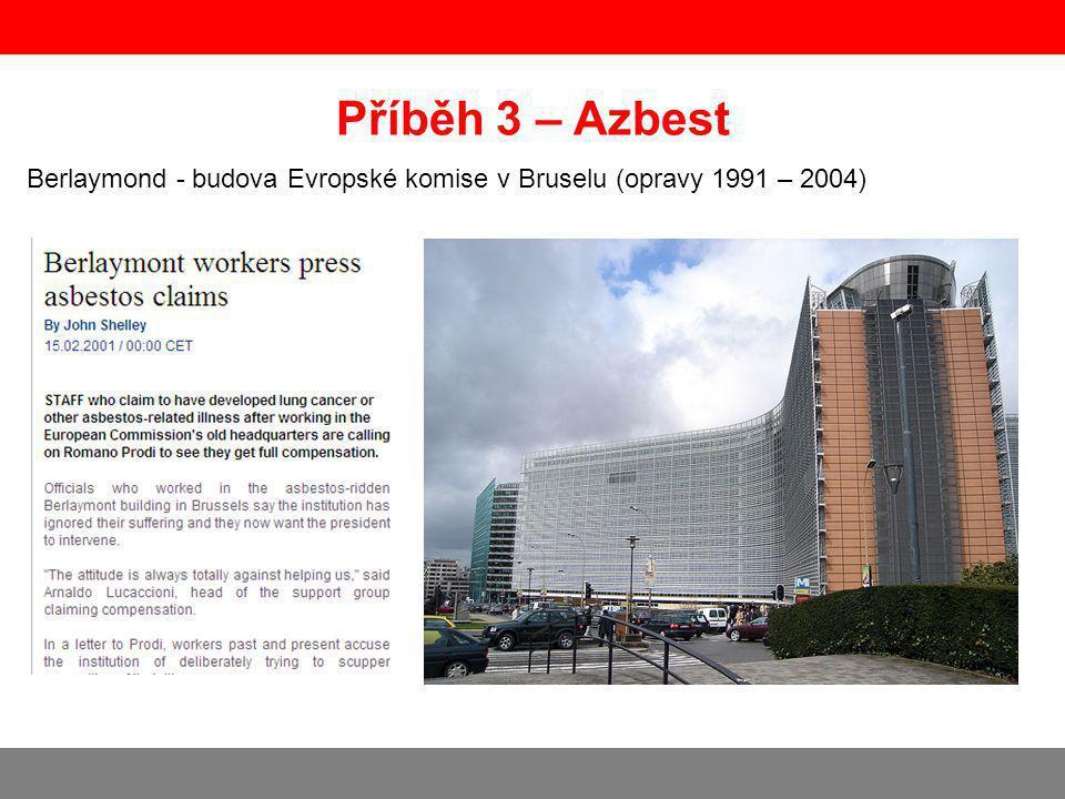 Berlaymond - budova Evropské komise v Bruselu (opravy 1991 – 2004)