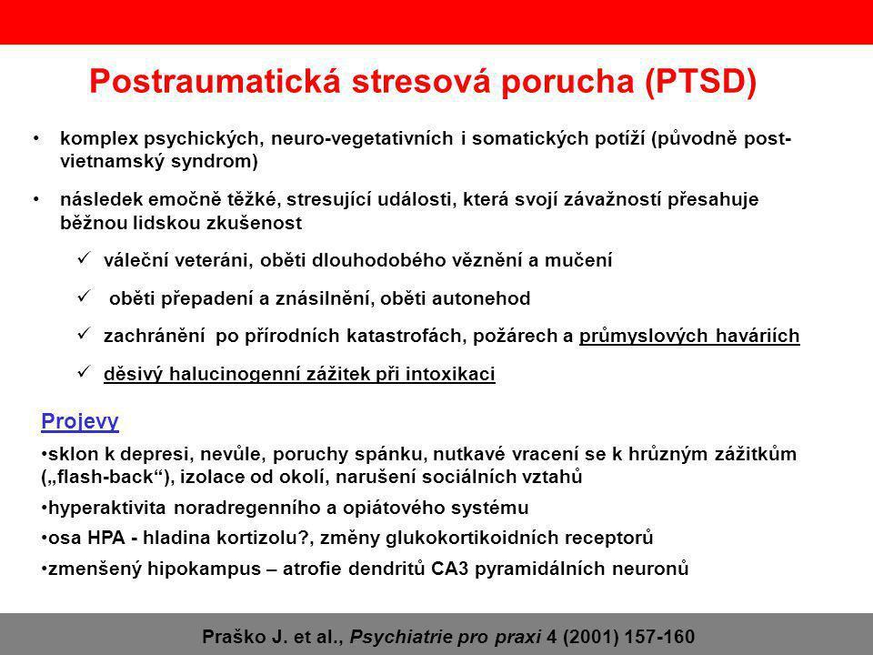 Postraumatická stresová porucha (PTSD)