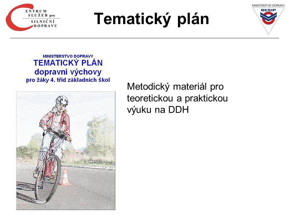 Tematický plán Metodický materiál pro teoretickou a praktickou výuku na DDH