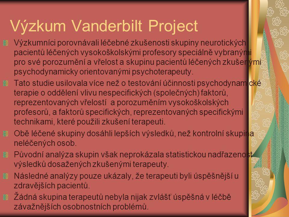 Výzkum Vanderbilt Project