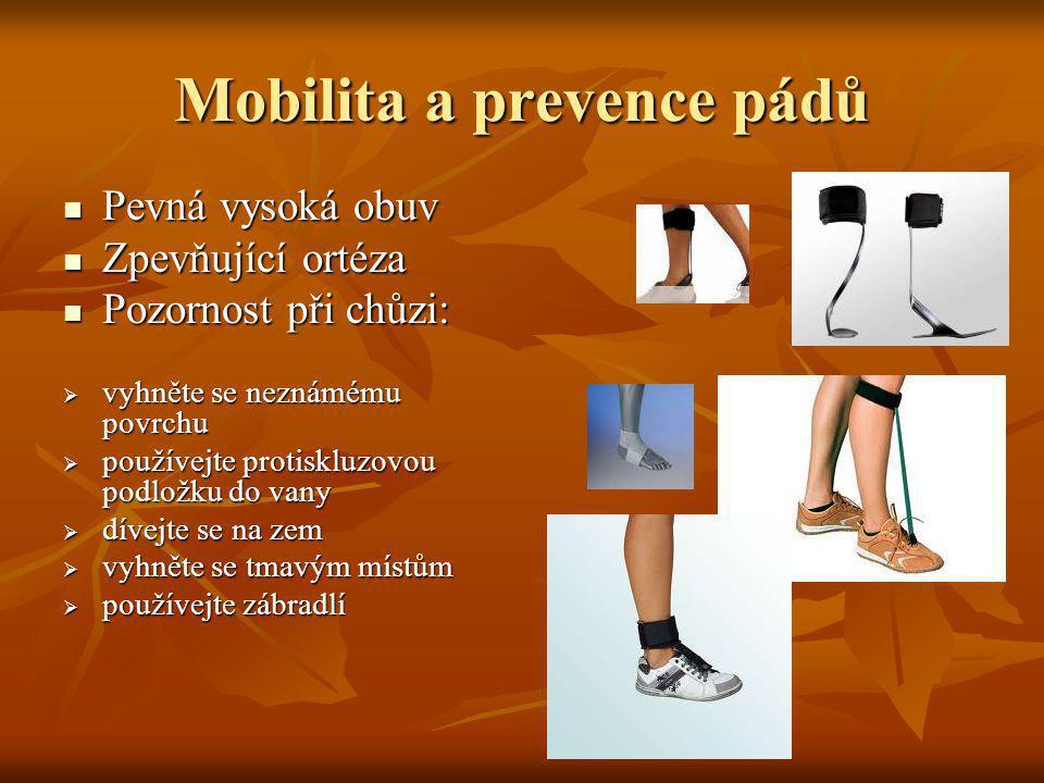 Mobilita a prevence pádů