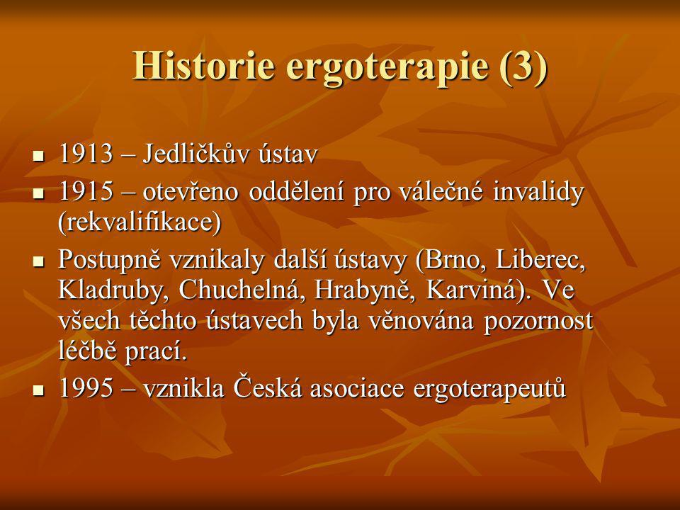 Historie ergoterapie (3)