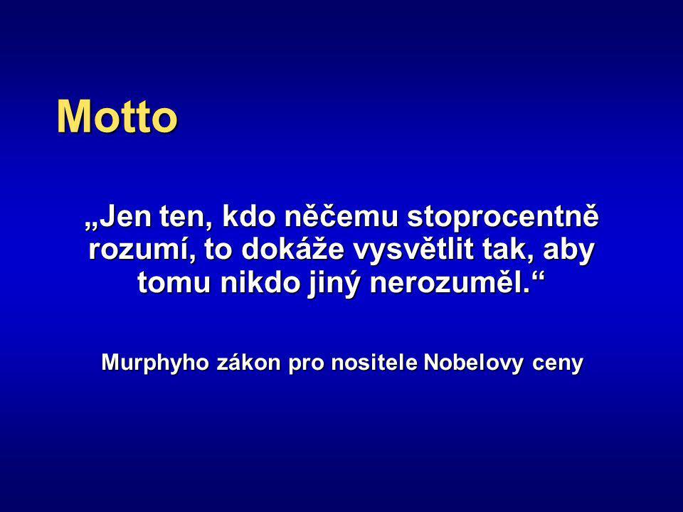 Murphyho zákon pro nositele Nobelovy ceny