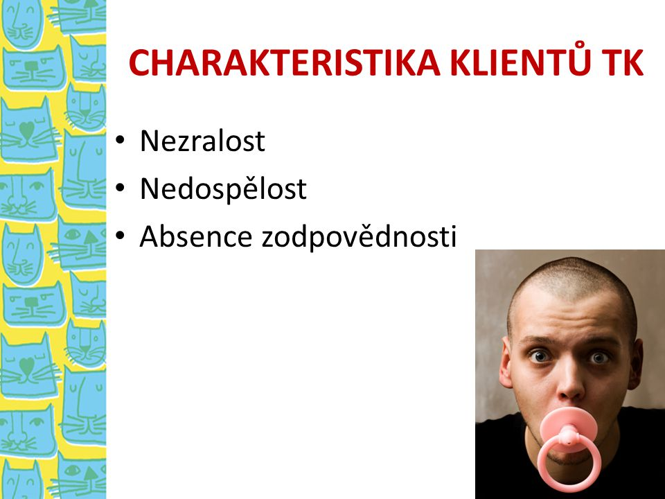 CHARAKTERISTIKA KLIENTŮ TK