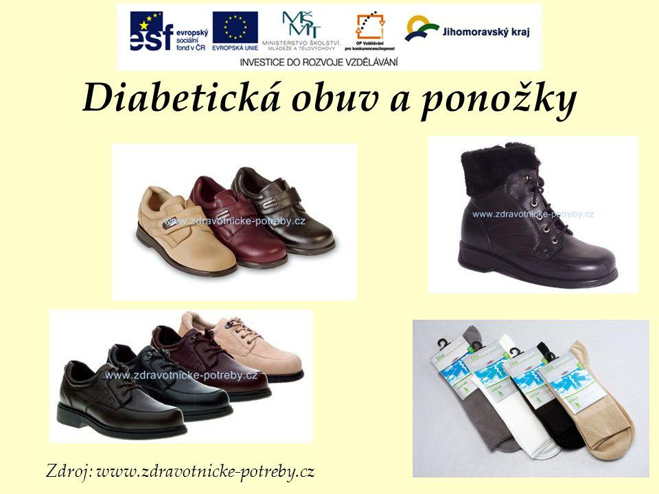 Diabetická obuv a ponožky