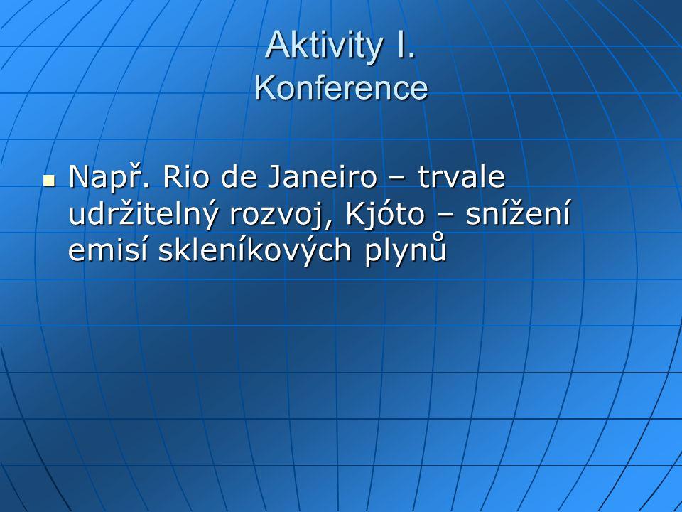 Aktivity I. Konference Např.