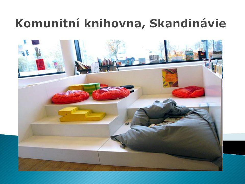 Komunitní knihovna, Skandinávie