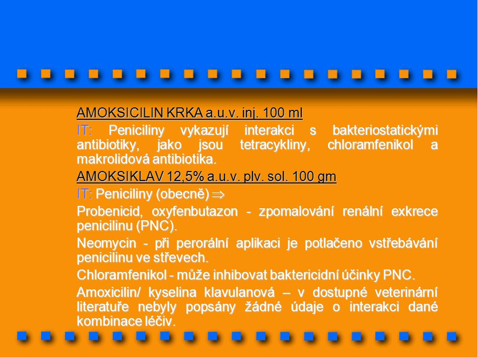 AMOKSICILIN KRKA a.u.v. inj. 100 ml