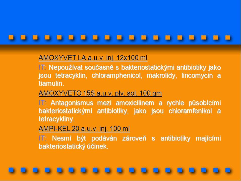 AMOXYVET LA a.u.v. inj. 12x100 ml