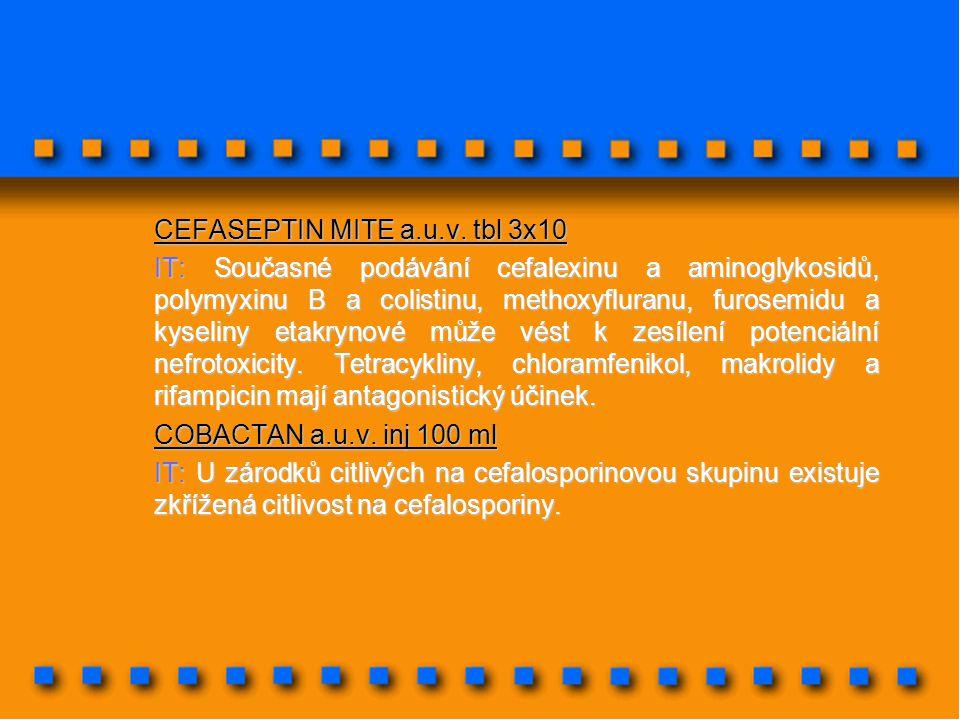 CEFASEPTIN MITE a.u.v. tbl 3x10