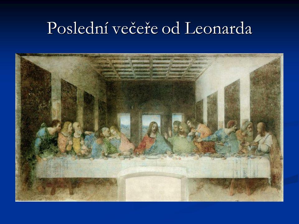 Poslední večeře od Leonarda