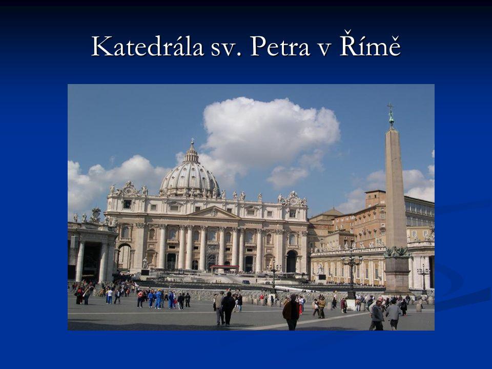 Katedrála sv. Petra v Římě