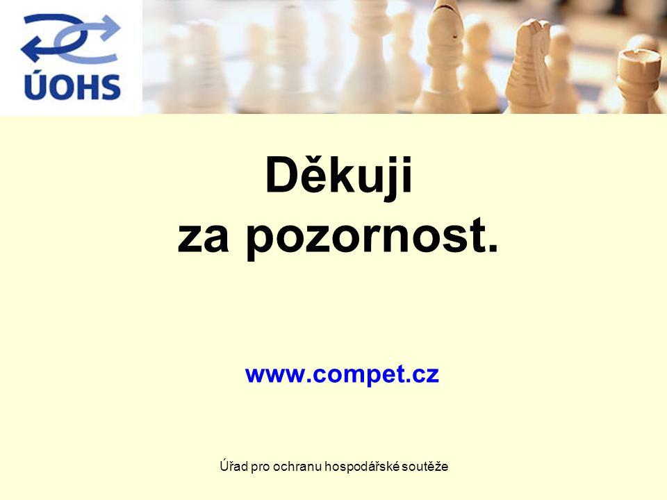 Děkuji za pozornost. www.compet.cz