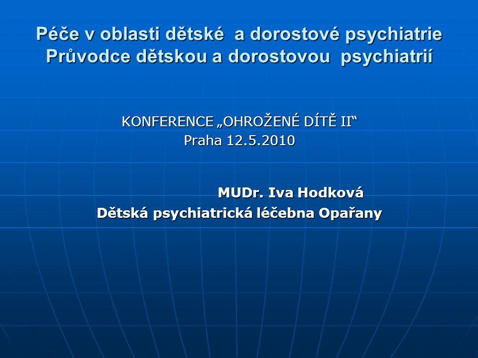 Dětská psychiatrická léčebna Opařany