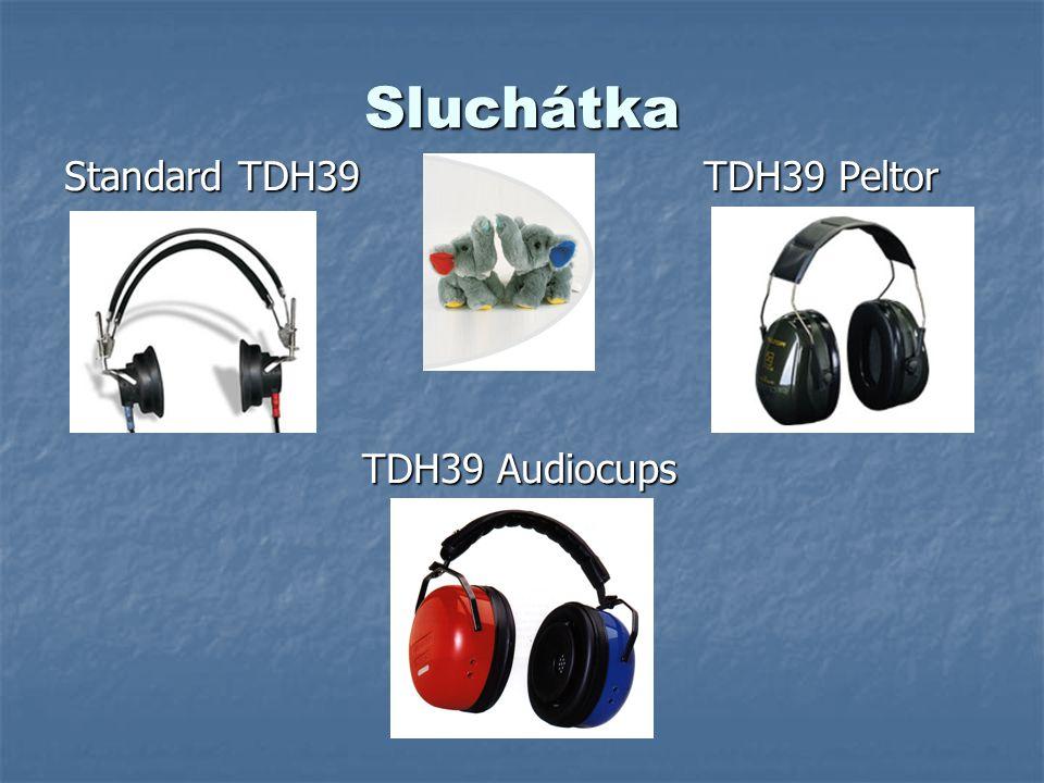 Sluchátka Standard TDH39 TDH39 Peltor TDH39 Audiocups