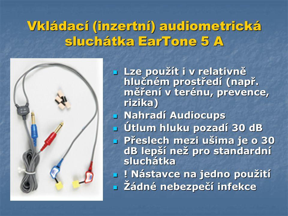 Vkládací (inzertní) audiometrická sluchátka EarTone 5 A