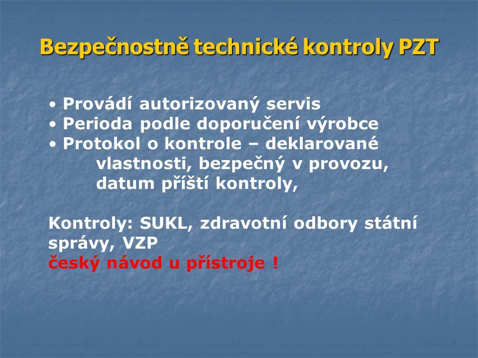 Bezpečnostně technické kontroly PZT