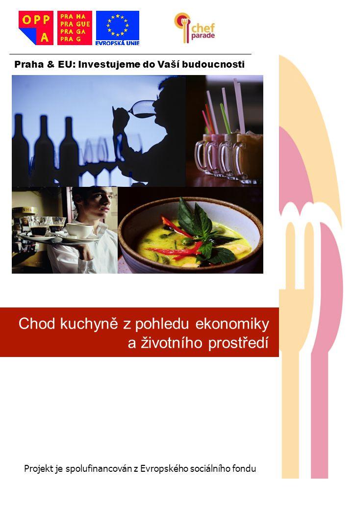 Chod kuchyně z pohledu ekonomiky a životního prostředí