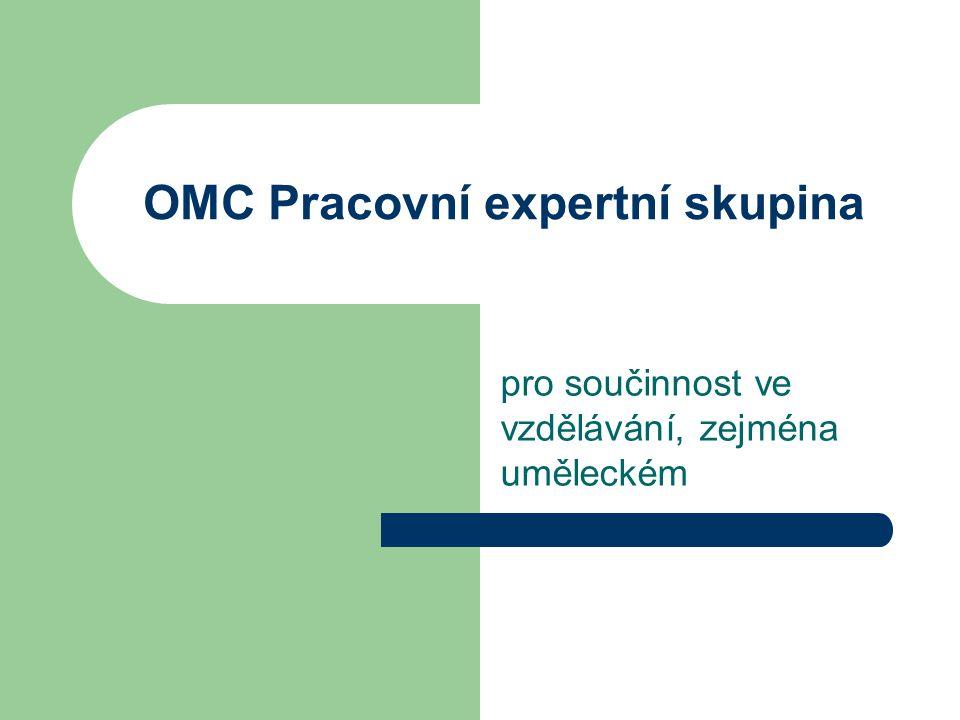 OMC Pracovní expertní skupina