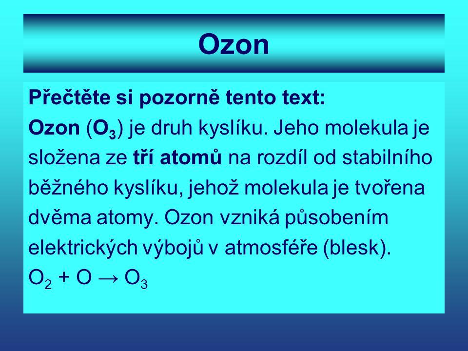 Ozon Přečtěte si pozorně tento text: