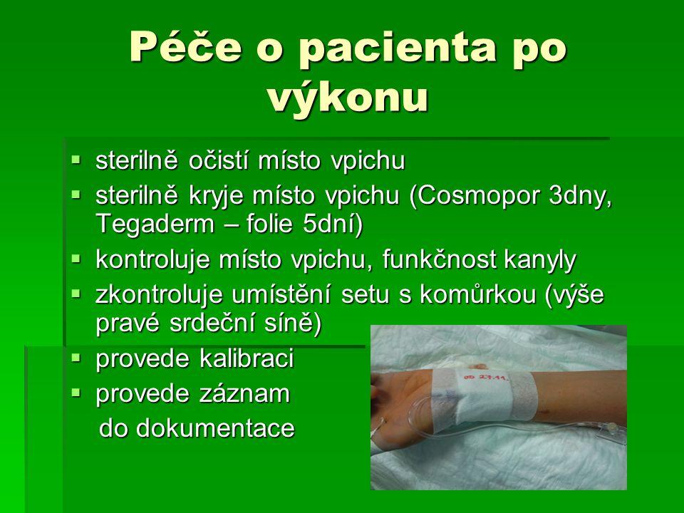 Péče o pacienta po výkonu