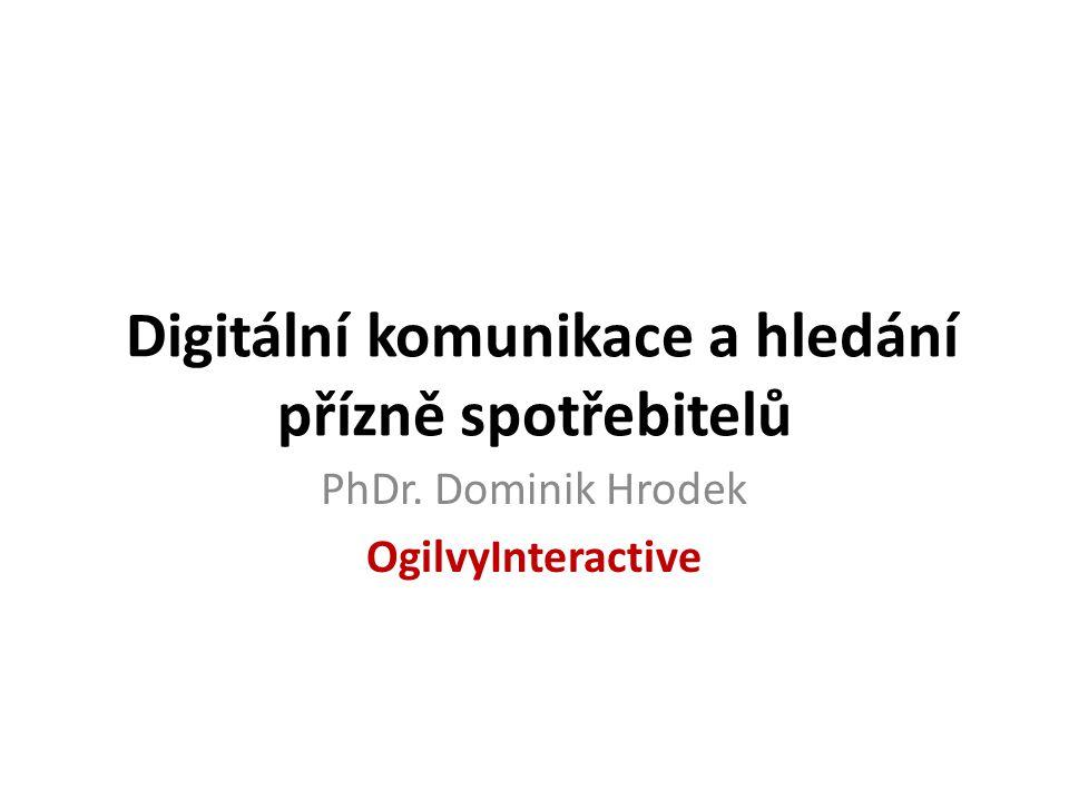 Digitální komunikace a hledání přízně spotřebitelů