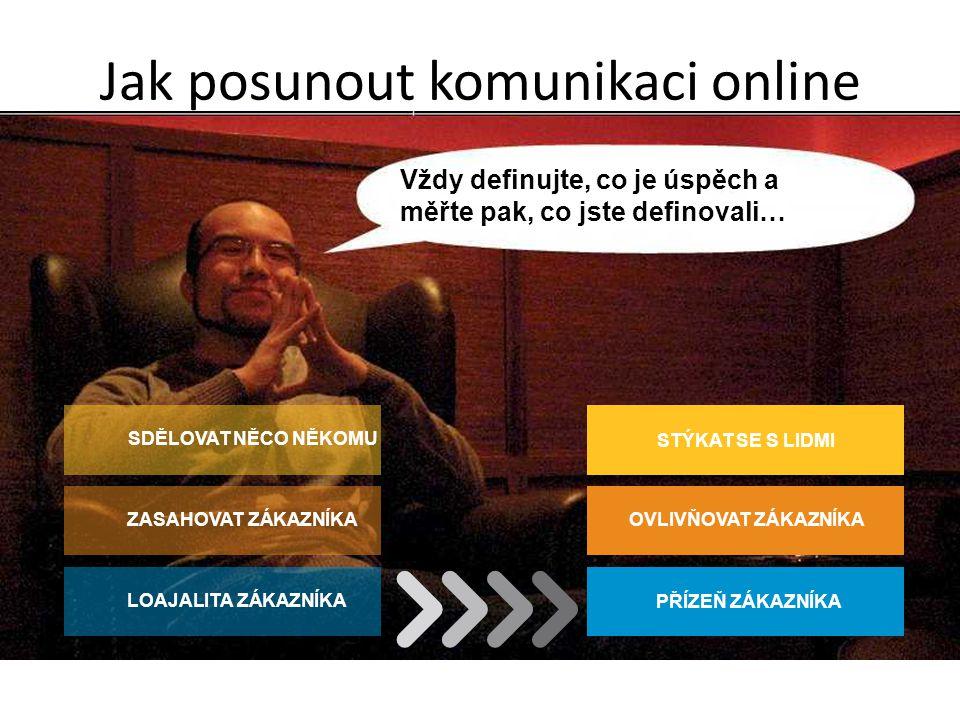 Jak posunout komunikaci online