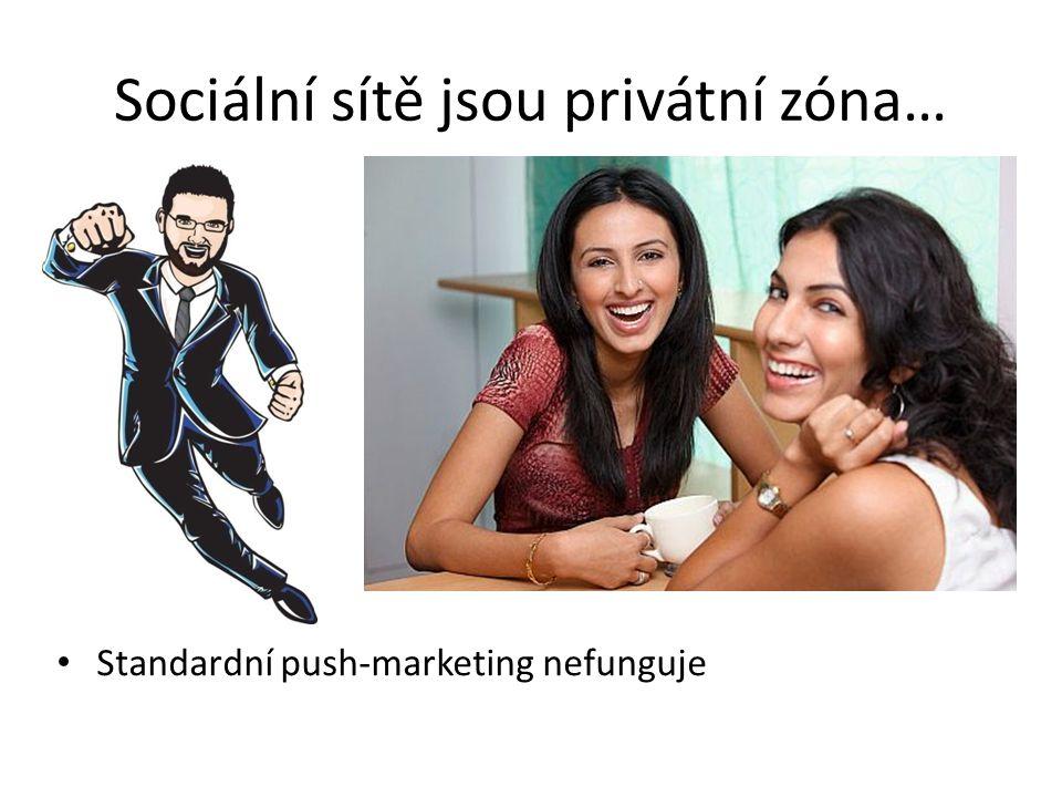 Sociální sítě jsou privátní zóna…