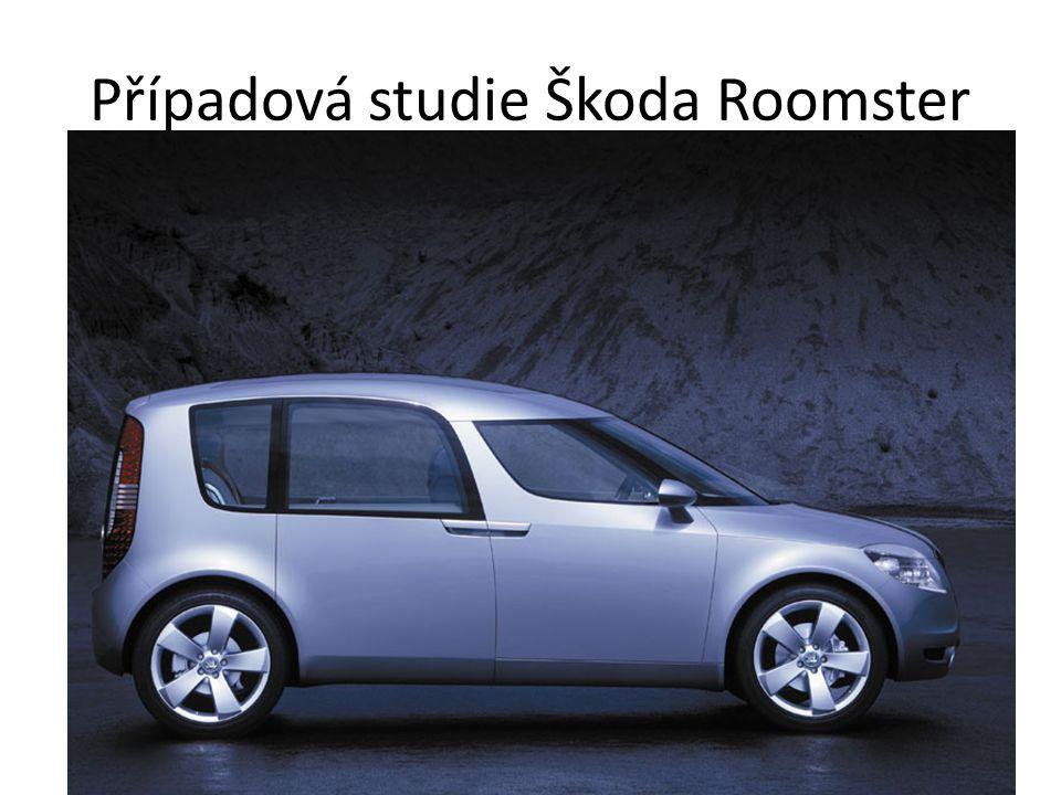 Případová studie Škoda Roomster