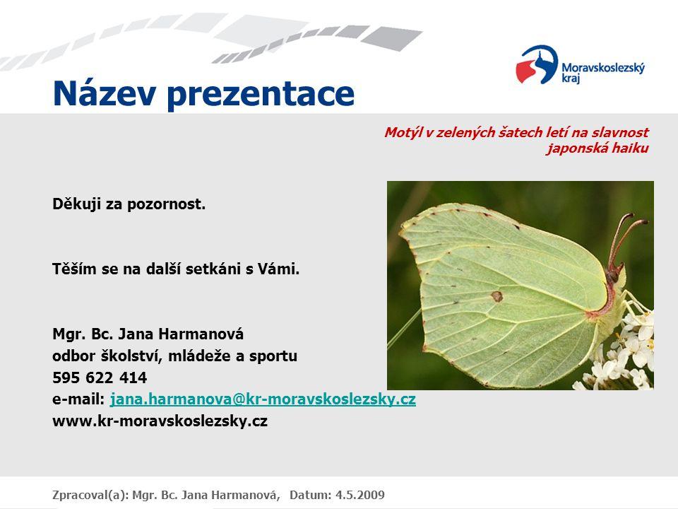 Motýl v zelených šatech letí na slavnost japonská haiku