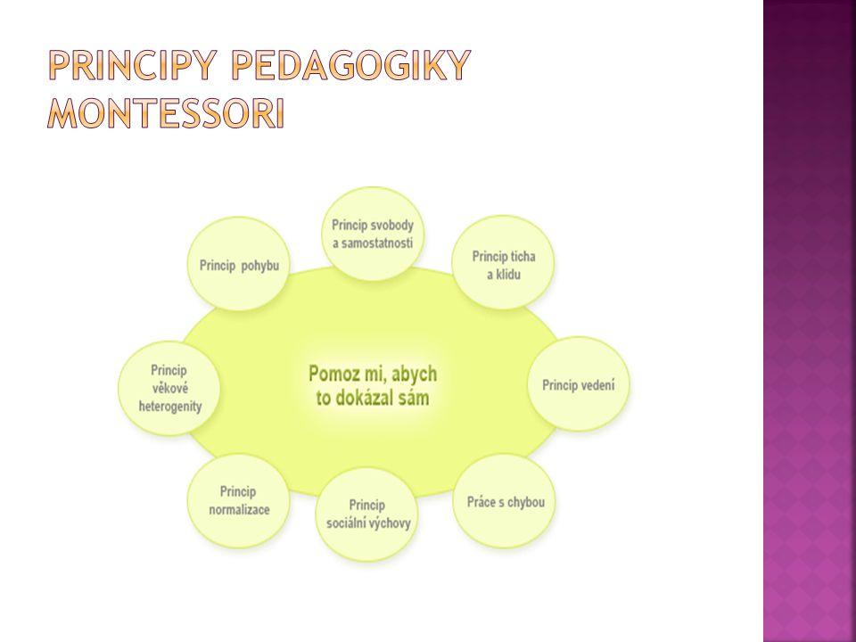 Principy Pedagogiky Montessori