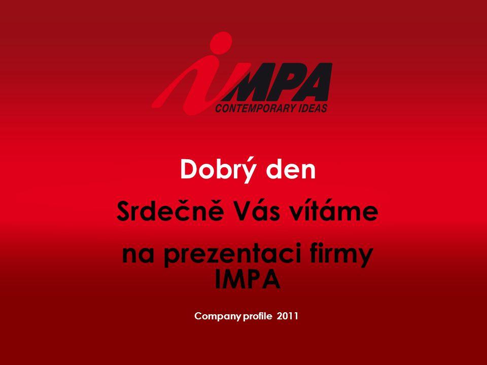 na prezentaci firmy IMPA