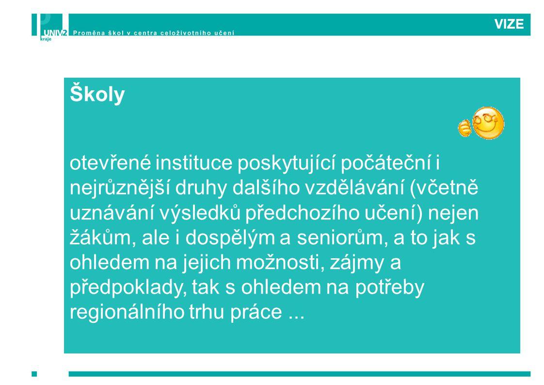 VIZE Školy.