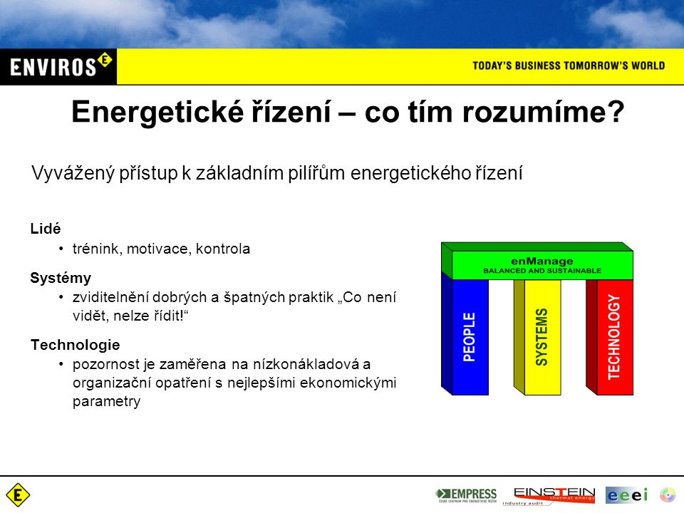 Energetické řízení – co tím rozumíme