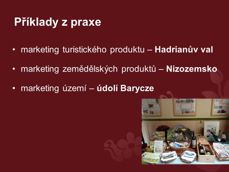 Příklady z praxe marketing turistického produktu – Hadrianův val