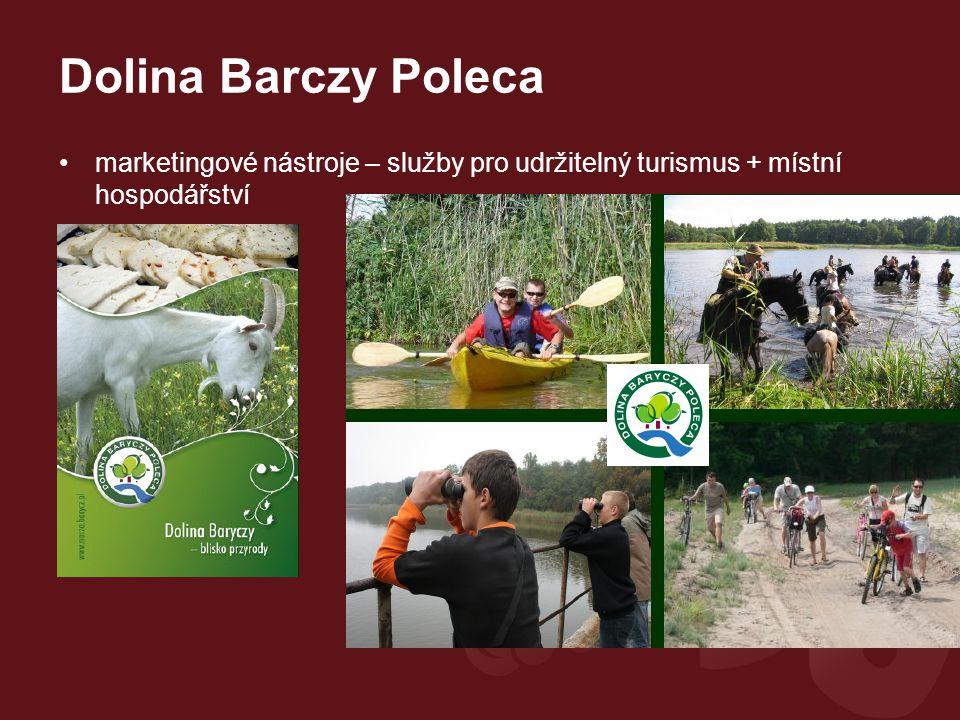 Dolina Barczy Poleca marketingové nástroje – služby pro udržitelný turismus + místní hospodářství.