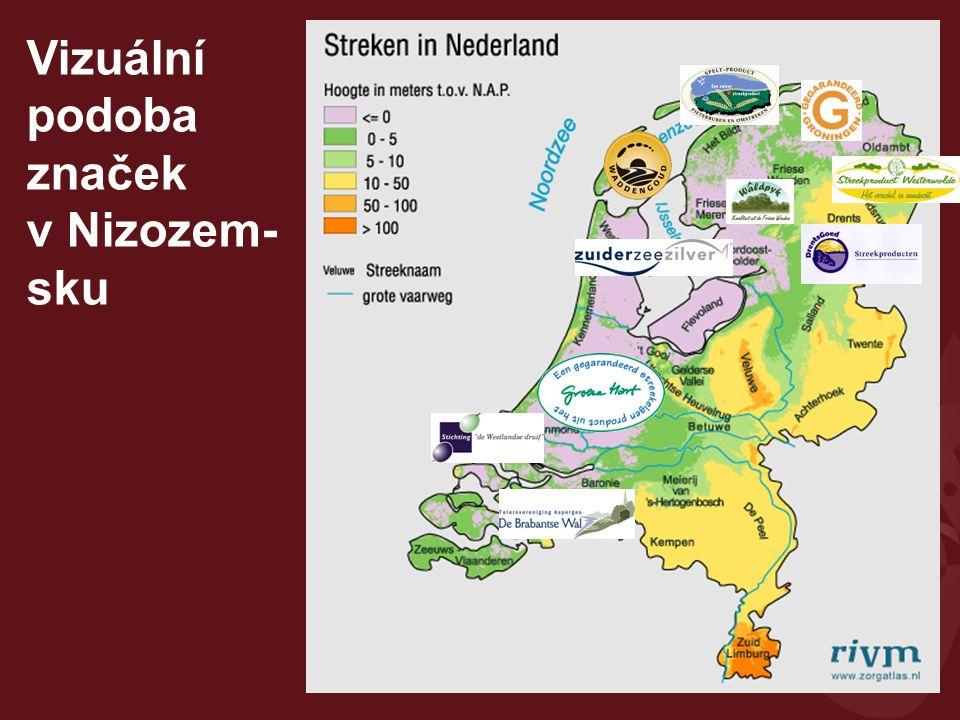 Vizuální podoba značek v Nizozem-