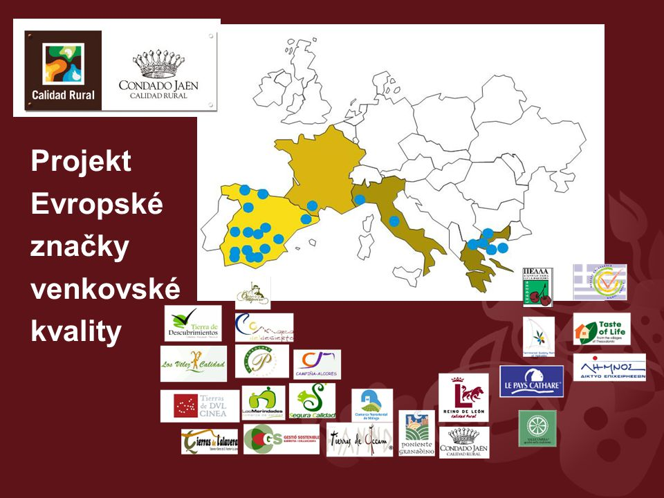 Projekt Evropské značky venkovské kvality