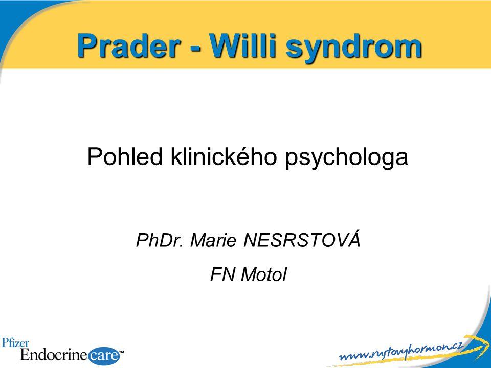 Pohled klinického psychologa