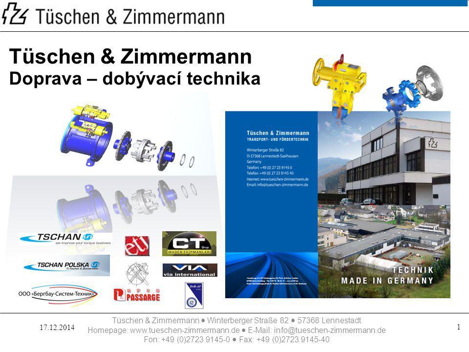 Tüschen & Zimmermann Doprava – dobývací technika