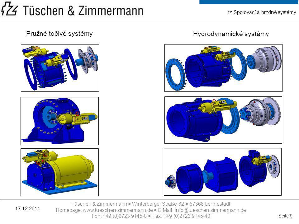 tz-Spojovací a brzdné systémy
