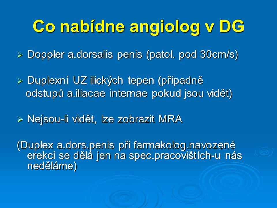Co nabídne angiolog v DG