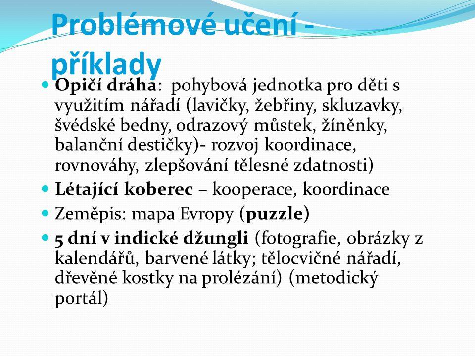 Problémové učení - příklady