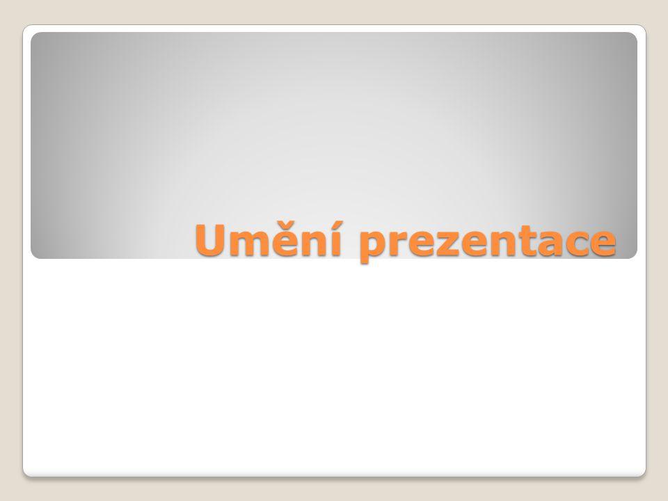 Umění prezentace