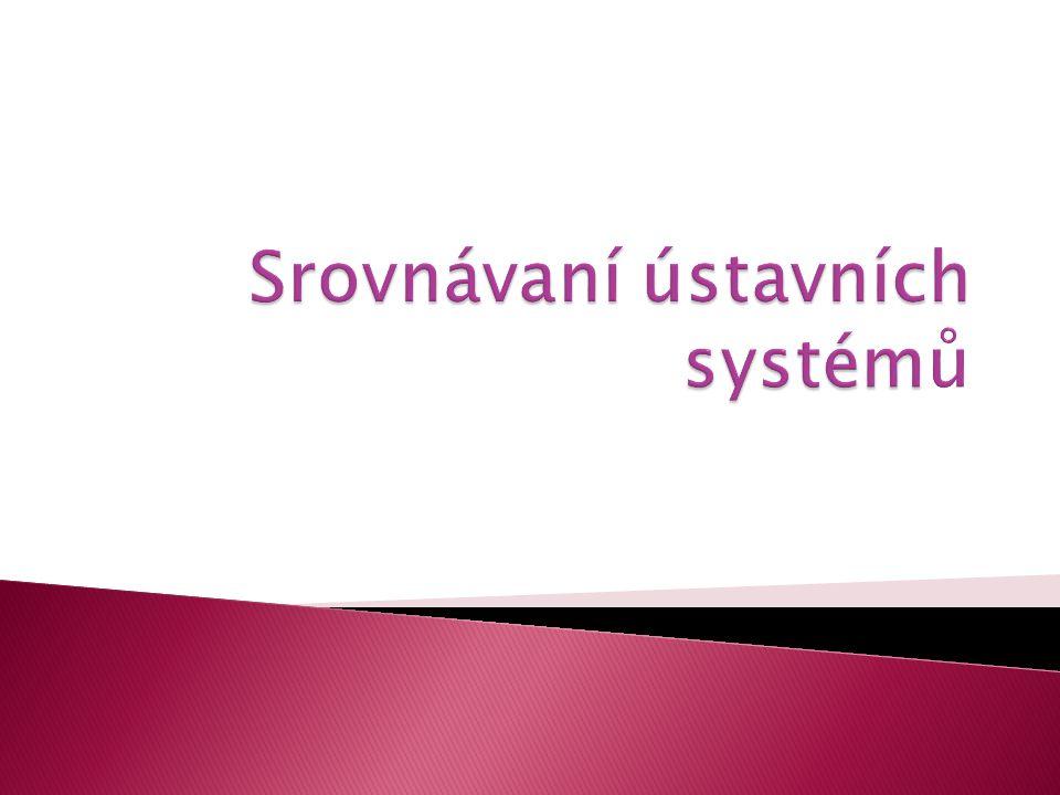 Srovnávaní ústavních systémů