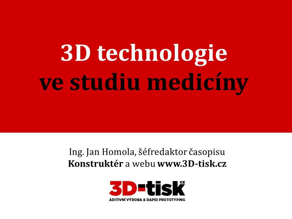 3D technologie ve studiu medicíny