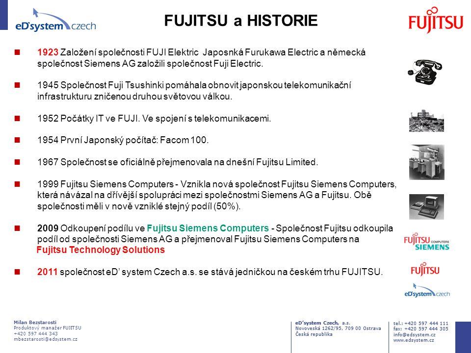 FUJITSU a HISTORIE